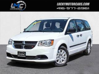 Used 2016 Dodge Grand Caravan SE-BLUETOOTH-STOW N GO-NO ACCIDENTS-90KMS for sale in Toronto, ON