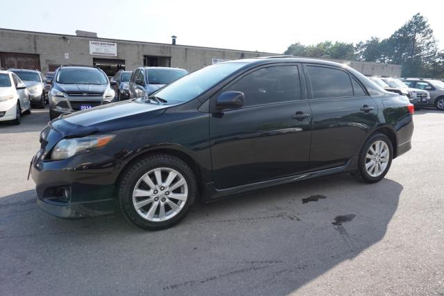 2010 Toyota Corolla S 5SPD PREMIUM PKG CERTIFIED 2YR WARRANTY *FREE ACCIDENT* SUNROOF BLUETOOTH HEATED LEATHER ALLOYS