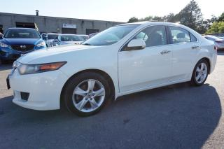 Used 2010 Acura TSX PREMUIM PKG 6SPD CERTIFIED 2YR WARRANTY *FREE ACCIDENT* SUNROOF BLUETOOTH ALLOYS POWER HEATED SEATS for sale in Milton, ON