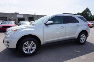 Used 2011 Chevrolet Equinox 1LT CAMERA CERTIFIED 2YR WARRANTY *FREE ACCIDENT* BLUETOOTH REMOTE START ALLOYS CRUISE HITCH for sale in Milton, ON