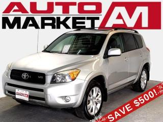 Used 2007 Toyota RAV4 Sport 4WD Certified,AWD,We Approve All Credit! for sale in Guelph, ON