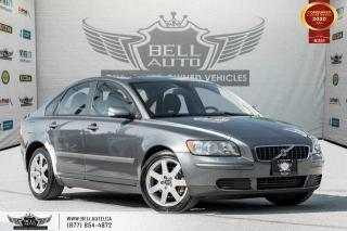 Used 2005 Volvo S40 (fleet-only) 2.4L, SUNROOF, HEATED SEAT, ALLOY WHEEL for sale in Toronto, ON