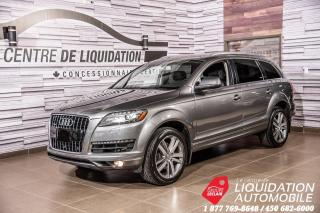 Used 2014 Audi Q7 3.0T Technik+GPS+TOIT OUVRANT+AWD+MAGS+CUIR for sale in Laval, QC