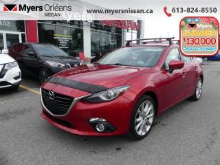 Used 2014 Mazda MAZDA3 GT-SKY  - Sunroof -  Navigation - $109 B/W for sale in Orleans, ON