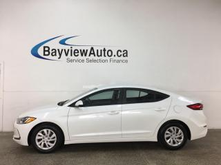 Used 2017 Hyundai Elantra L - 6SPD! HTD SEATS! PWR GROUP! + MORE! for sale in Belleville, ON