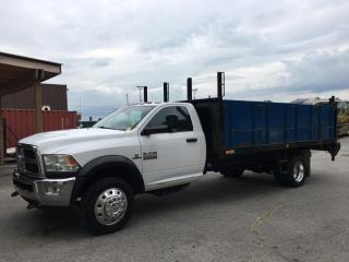 Used 2015 RAM 5500 Chassis ST/SLT - TURBO DIESEL! FULL PWR GROUP! for sale in Belleville, ON