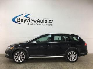 Used 2019 Volkswagen Golf Alltrack 1.8 TSI Execline - 4MOTION! PANOROOF! HTD LEATHER! NAV! for sale in Belleville, ON