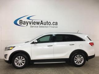 Used 2018 Kia Sorento 2.4L LX - 40,000KMS! HTD SEATS! REVERSE CAM! ALLOYS! + MORE! for sale in Belleville, ON