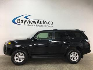Used 2019 Toyota 4Runner SR5 - 4X4! NAV! SUNROOF! HTD LEATHER! + MORE! for sale in Belleville, ON