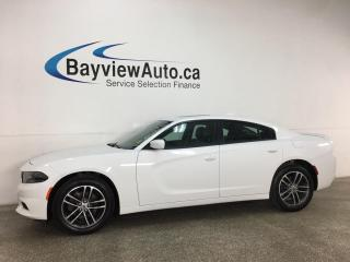Used 2019 Dodge Charger SXT - AWD! HTD/COOLED LTHR! SUNROOF! NAV! + MORE! for sale in Belleville, ON