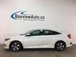 Used 2019 Honda Civic LX - AUTO! HTD SEATS! REVERSE CAM! HONDA LINK! + MORE! for sale in Belleville, ON