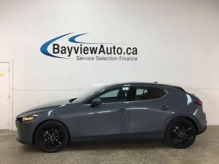 Used 2020 Mazda MAZDA3 GT - AWD! HTD LEATHER! NAV! SUNROOF! LOADED! for sale in Belleville, ON