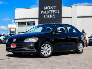 Used 2016 Volkswagen Jetta Trendline Plus| 1.4L TURBO|SUNROOF for sale in Kitchener, ON