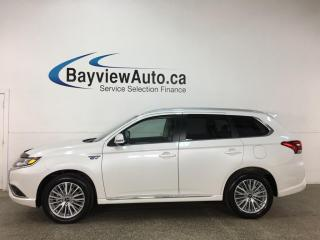 Used 2019 Mitsubishi Outlander Phev - AWD! SUNROOF HTD SEATS! REVERSE CAM! ALLOYS! ONLY 7000KMS! for sale in Belleville, ON