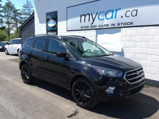 Used 2017 Ford Escape SUNROOF, NAV, HEATED SEAT, GLOSS BLACK WHEELS!! for sale in Richmond, ON
