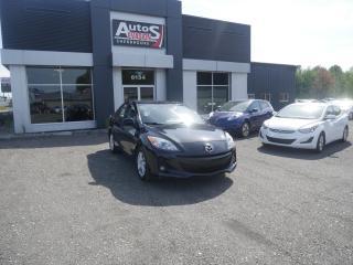 Used 2012 Mazda MAZDA3 Vendu, sold merci for sale in Sherbrooke, QC