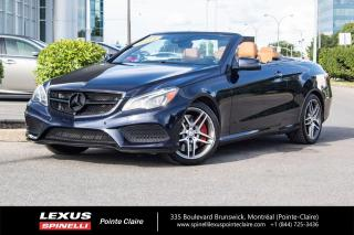 Used 2014 Mercedes-Benz E-Class E 550 **ECHAPPEMENT AMG SPORT**CONVERTIBLE**CAMERA 360**GPS**CUIR**AIDE STATIONEMENT** for sale in Montréal, QC