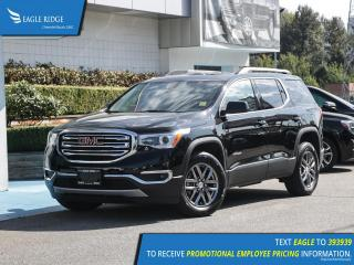 Used 2018 GMC Acadia SLT-1 Heated Seats, Leather Upholstery for sale in Coquitlam, BC