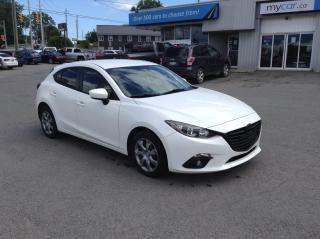 Used 2014 Mazda MAZDA3 GX-SKY POWERGROUP, A/C, NICE CAR!! for sale in Kingston, ON