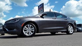 Used 2015 Chrysler 200 Limited for sale in Brandon, MB