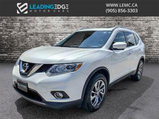 Used 2015 Nissan Rogue SL AWD, Navigation, Leather, Sunroof, 360 Camera for sale in Woodbridge, ON