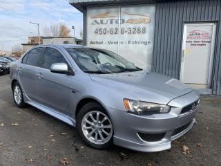 Used 2012 Mitsubishi Lancer ***SE,AUTOMATIQUE,A/C,BAS KILO,MAGS*** for sale in Longueuil, QC