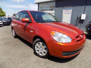 Used 2010 Hyundai Accent *GL,AUTOMATIQUE,A/C,BIEN CHAUSSÉ* for sale in Longueuil, QC