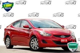 Used 2013 Hyundai Elantra GL | FWD | 1.8L GAS ENGINE | 6-SPEED MANUAL for sale in Kitchener, ON