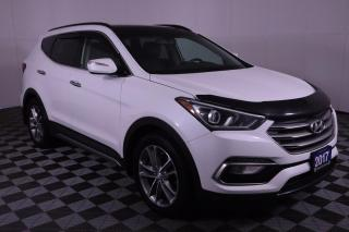 Used 2017 Hyundai Santa Fe Sport 2.0T Limited NAVIGATION, LEATHER, HEATED & COOLED SEATS, POWER MOONROOF for sale in Huntsville, ON