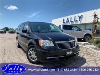 Used 2014 Chrysler Town & Country Touring, Leather, Rear DVD, Stow and Go! for sale in Tilbury, ON