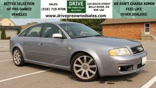 Used 2004 Audi RS 6 4.2 LIKE NEW | TWIN TURBO V8 | MUST SEE VERY RARE for sale in Belle River, ON