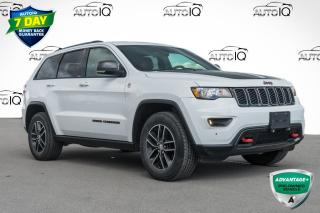 Used 2017 Jeep Grand Cherokee Trailhawk ONE OWNER LOCAL TRADE for sale in Innisfil, ON