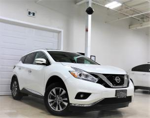 Used 2016 Nissan Murano AWD SL BLIND SPOT NAVI REAR VIEW BOSE SOUND SYSTEM for sale in North York, ON