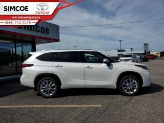 New 2020 Toyota Highlander Limited  - Leather Seats - $414 B/W for sale in Simcoe, ON
