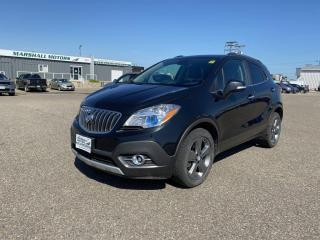 Used 2014 Buick Encore AWD 4dr Leather *Heated Seats/Wheel* *Bose Sound* for sale in Brandon, MB