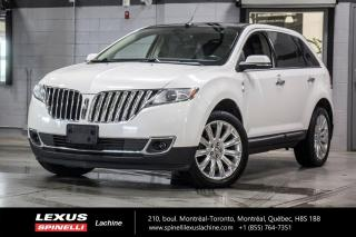Used 2013 Lincoln MKX CUIR TOIT PANO GPS ANGLES MORT AUDIO MAGS 20'' NAVIGATION - TOIT PANORAMIQUE - CAMERA DE RECUL - MONITEUR ANGLES MORT - AUDIO PREMIUM THX II for sale in Lachine, QC