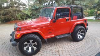 Used 2004 Jeep Wrangler Sport, Low KM, 3/Y Warranty available for sale in Toronto, ON