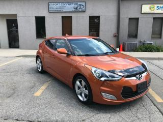 Used 2012 Hyundai Veloster 3dr Cpe 6 SPEED Man,NO ACCIDENTS,CERTIFIED ! for sale in Burlington, ON