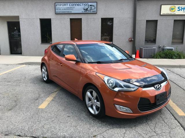 2012 Hyundai Veloster 3dr Cpe 6 SPEED Man,NO ACCIDENTS,CERTIFIED !