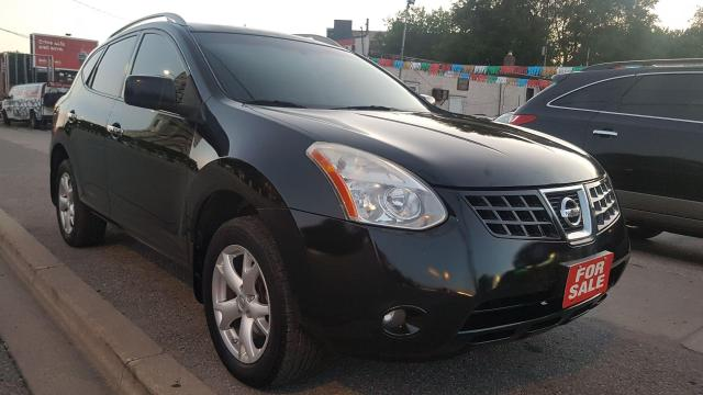2010 Nissan Rogue SL-EXTRA CLEAN-LEATHER-SUNROOF-SUNROOF-AUX-ALLOYS