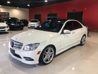 Used 2011 Mercedes-Benz C-Class C350 4MATIC * Navigation * Panoramic * Keyless Go for sale in Thornhill, ON