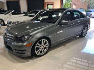 Used 2013 Mercedes-Benz C-Class C 350 4MATIC * Navigation * Panoramic Roof for sale in Thornhill, ON