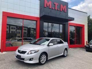 Used 2010 Toyota Corolla S * No Accident * for sale in Thornhill, ON