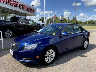 Used 2013 Chevrolet Cruze LT Turbo *Remote Start* *SOS* *Onstar* *CD Player* for sale in Brandon, MB