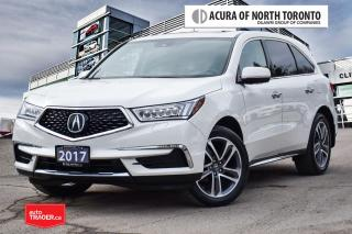 Used 2017 Acura MDX Navi No Accident| Remote Start| Blind Spot for sale in Thornhill, ON