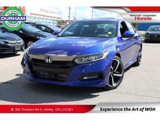 Used 2020 Honda Accord Sport 2.0T for sale in Whitby, ON
