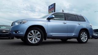 Used 2008 Toyota Highlander Hybrid Limited for sale in Brandon, MB