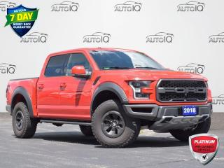 Used 2018 Ford F-150 Raptor TECH PACKAGE | LUXURY PACKAGE | CARBON FIBRE | BEADLOCK WHEELS | PANO MOONROOF for sale in Waterloo, ON