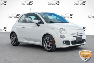 Used 2015 Fiat 500 Sport YOU CERTIFY YOU SAVE for sale in Innisfil, ON