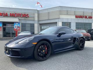 Used 2018 Porsche 718 Cayman 718 S **CPO 2ANS KM ILLIMITE, GROUPE PREMIUM** for sale in Mcmasterville, QC